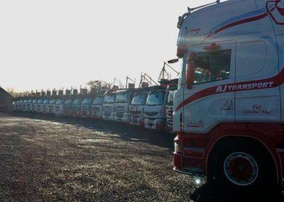 AJ Car Transport Line Up