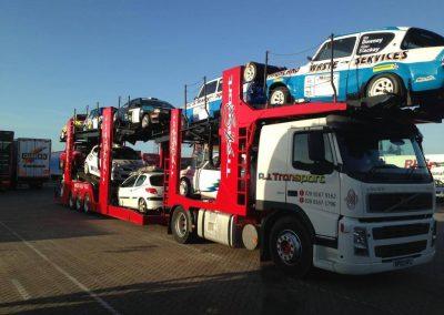 AJ Car Transport Lorry