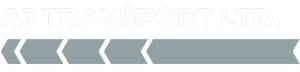 AJ Car Transport Lorry Logo