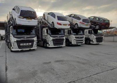 AJ Car Transport Lorries